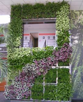 Le mur végétal est aujourdhui un véritable concept déco et ...